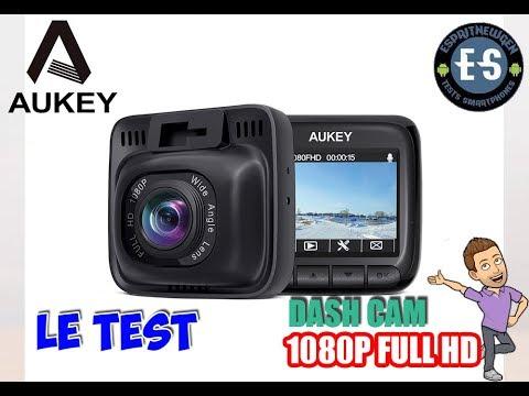 DASH CAM AUKEY - LE TEST