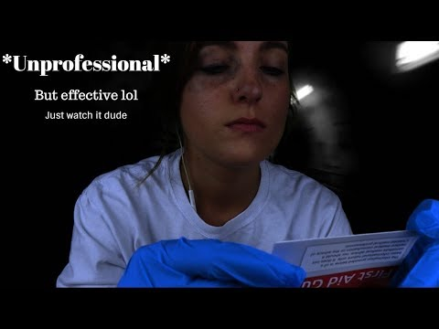 Emergency First-Aid | ASMR Roleplay