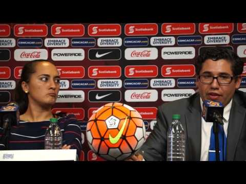 Costa Rica press conference - 2016 Feb19 CONCACAF Olympic Qualifying