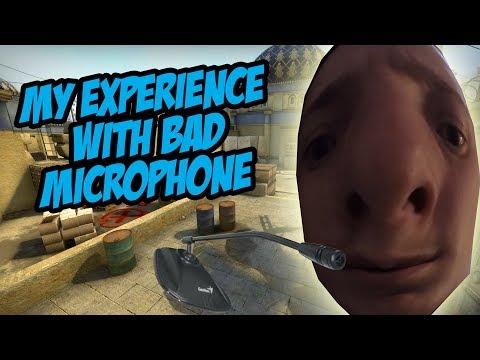CS:GO - THE STRUGGLE OF BAD MICROPHONES