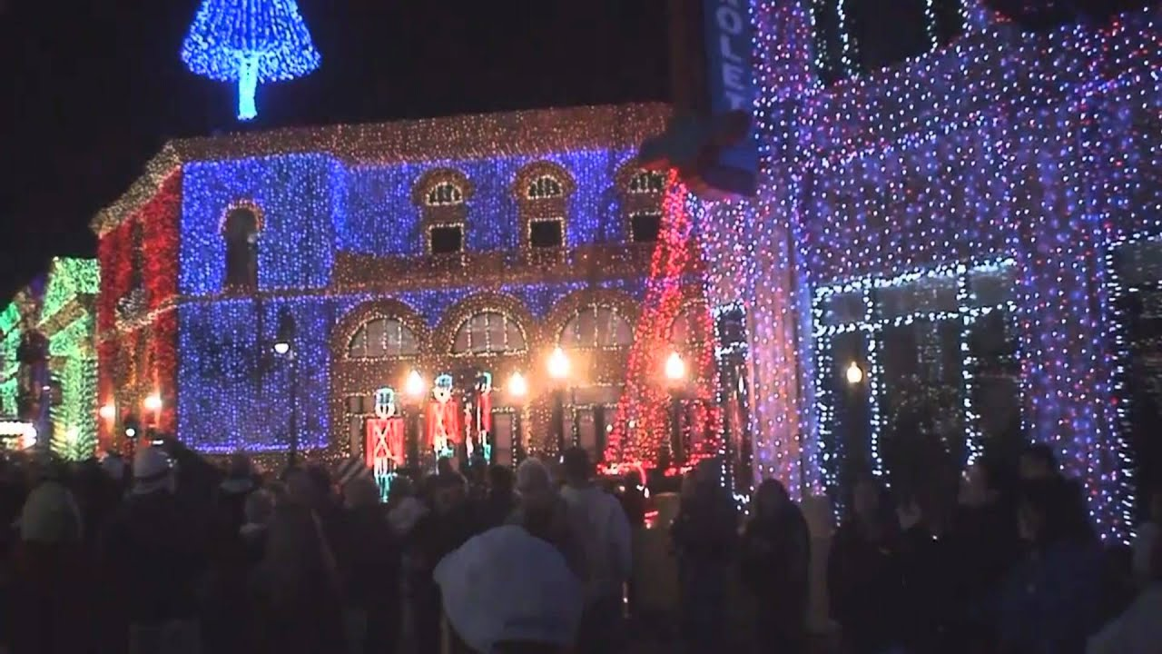 osborn family christmas lights mgmhollywood studios wdw orlando fl