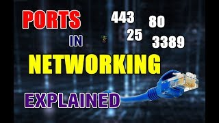 What Are Ports In Networking | Types Of Common TCP Ports | EXPLAINED