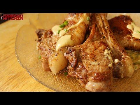 Pork Chops In Mustard Cream Sauce | Keto Recipes | Headbanger's Kitchen