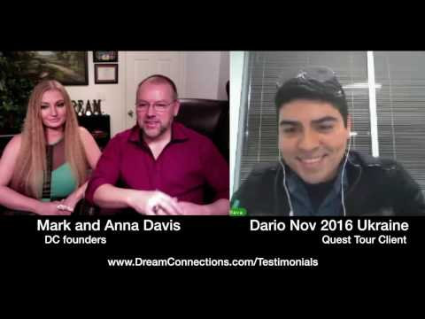 Quest Romance Tour Interview by Mark and Anna with Dario - Nov 2016
