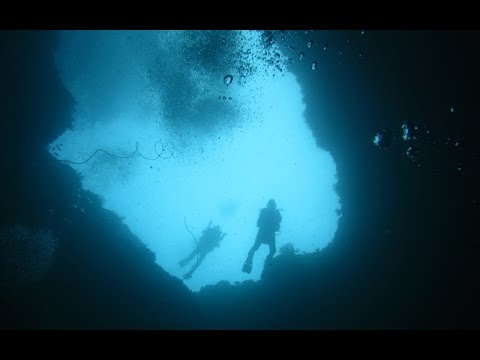 Amazing Blue Hole Diving Romblon Philippines