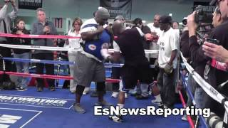 Oscar De La Hoya Floyd Mayweather vs Marcos Maidana Great Fight EsNews Boxing