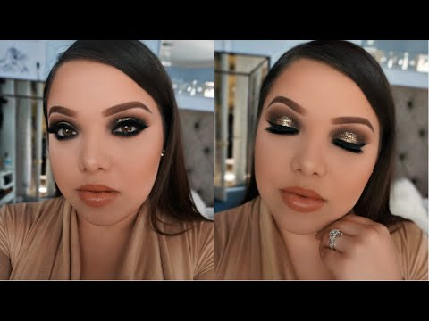 Glitter Night Time Makeup Tutorial