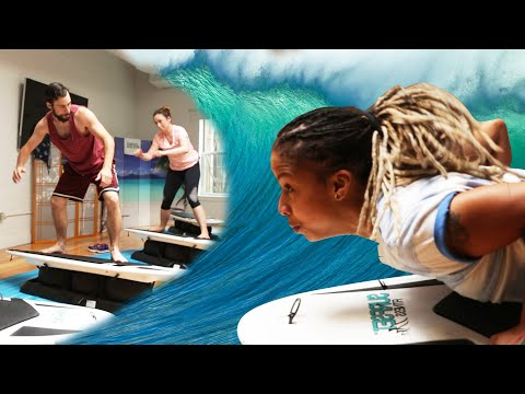 Thumbnail: We Tried An Indoor Surfing Workout Class