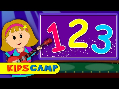 The Numbers Song | Nursery Rhymes | Rhymes for Children By Kidscamp