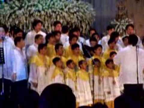salamat maria by basil valdez (live at sto. domingo church)