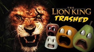 Lion King Trailer TRASHED!!! (Annoying Orange)
