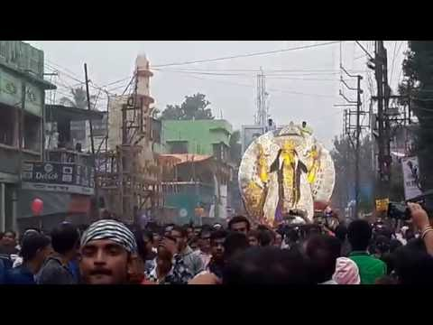 Jagadharti immersion ceremony in Krishnagar (Burima)