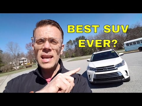 2018 Toyota Highlander Limited The Best SUV Ever?  In Depth Review