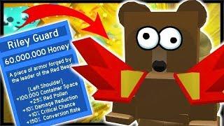 KAUF DER *OP* RILEY GUARD = 60 MILLIONEN HONIG!! | Roblox Bee Schwarm Simulator