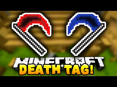 Minecraft - DEATH TAG! #1 (Funny Mini-Game!) - w/ Preston & Kenny! - Видео из Майнкрафт (Minecraft)