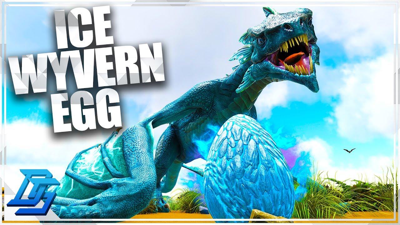Ice Wyvern Egg Robbery & Ice Wyvern Nest Location! - Ark Survival Evolved -  Part 10 (Primitive Plus)