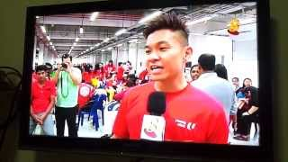 NDP 2013 Mediacorp Channel 8 6.30pm News Interview
