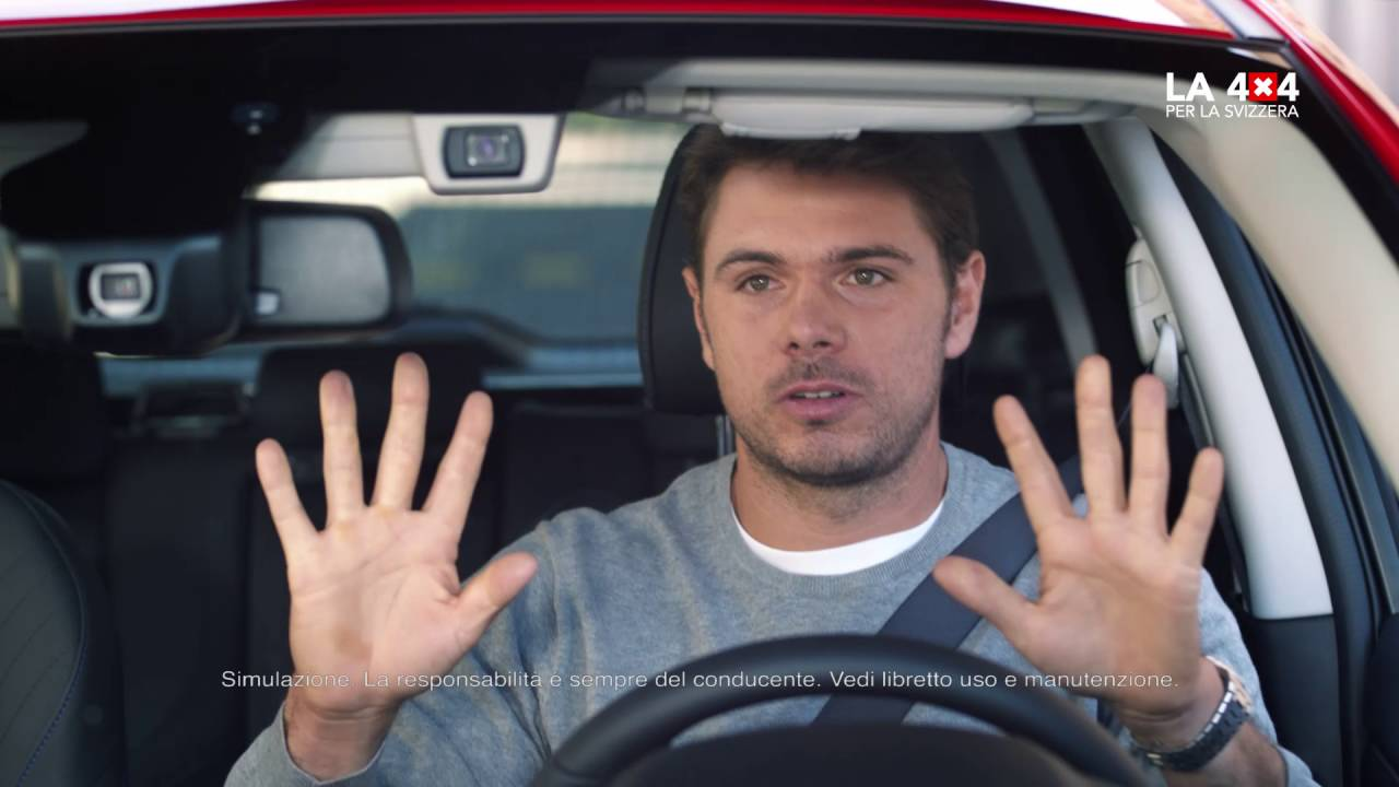 TV-SPOT SUBARU LEVORG 4X4 EYESIGHT CON STAN WAWRINKA