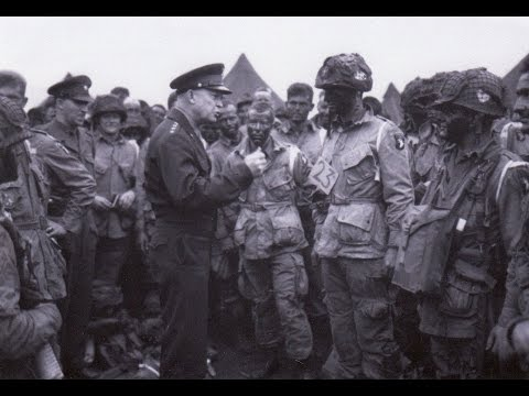 Ike's 20th Anniversary Return To Normandy