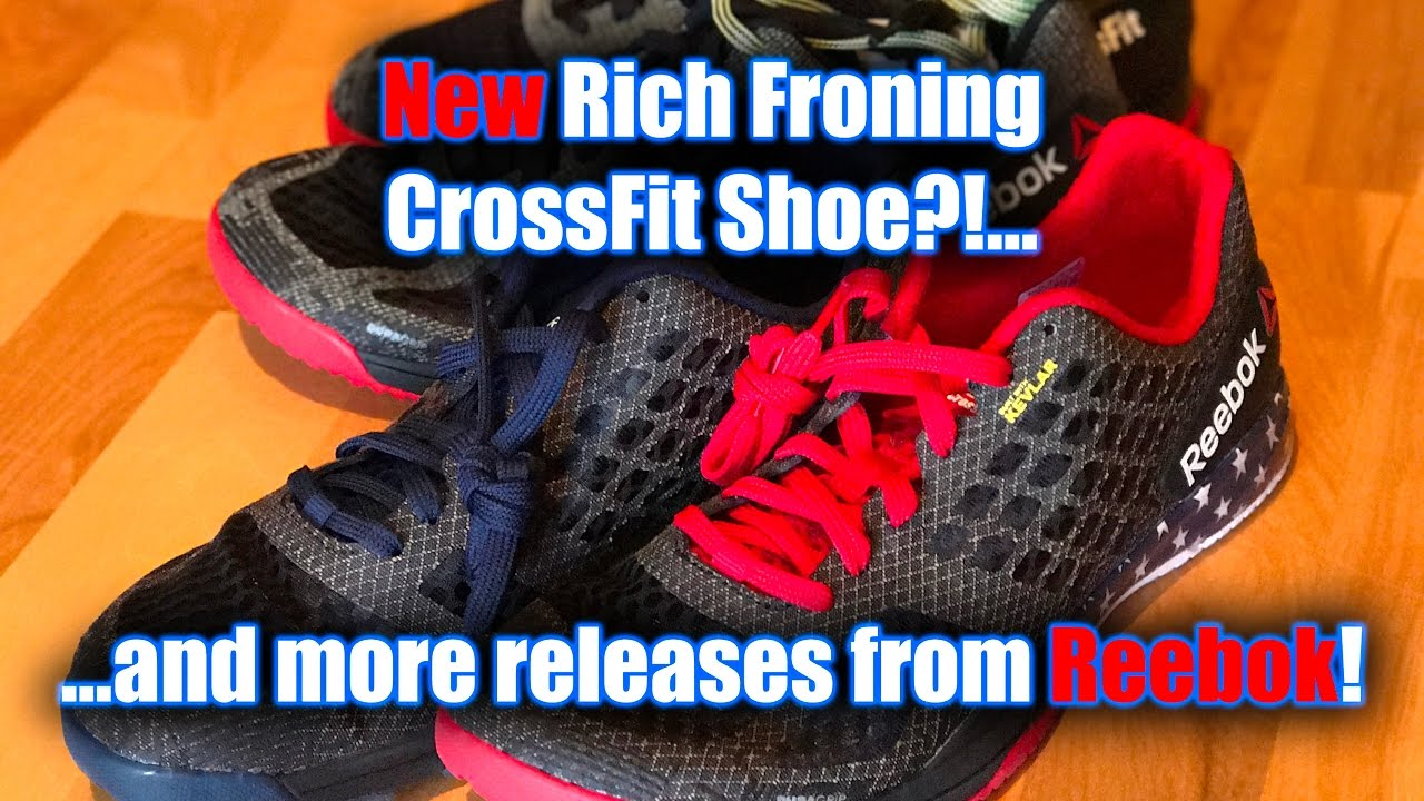 NEW Rich Froning CrossFit Shoe Update (RF1)! NEW Reebok CrossFit Shoes! 676198ee8