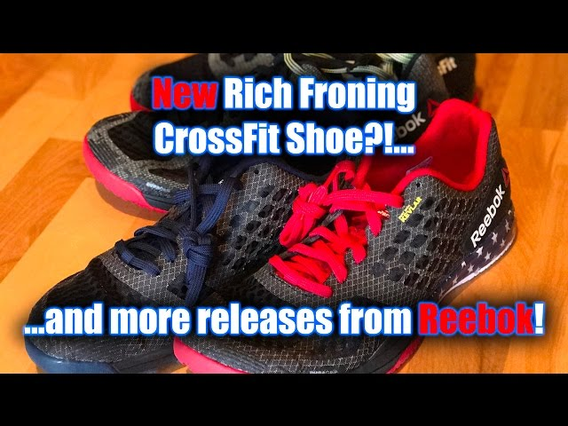 175d4990f86 NEW Rich Froning Shoes   Other Reebok CrossFit Releases!