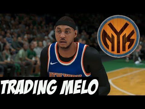 NBA 2K18 MyGM Ep.1 | New York Knicks | Trading Carmelo Anthony Won't Be Easy