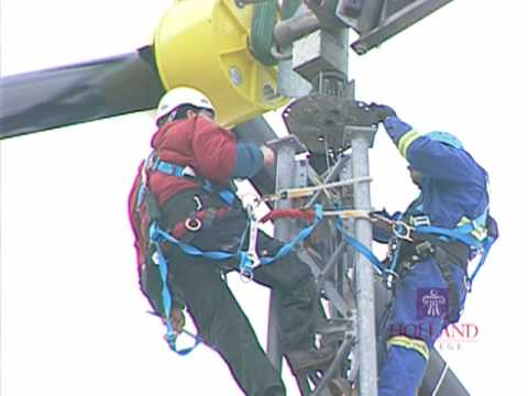 Holland College Wind Turbine Technician program - YouTube