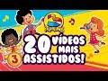3 Palavrinhas - Os 20 Vídeos Mais Assistidos do Canal