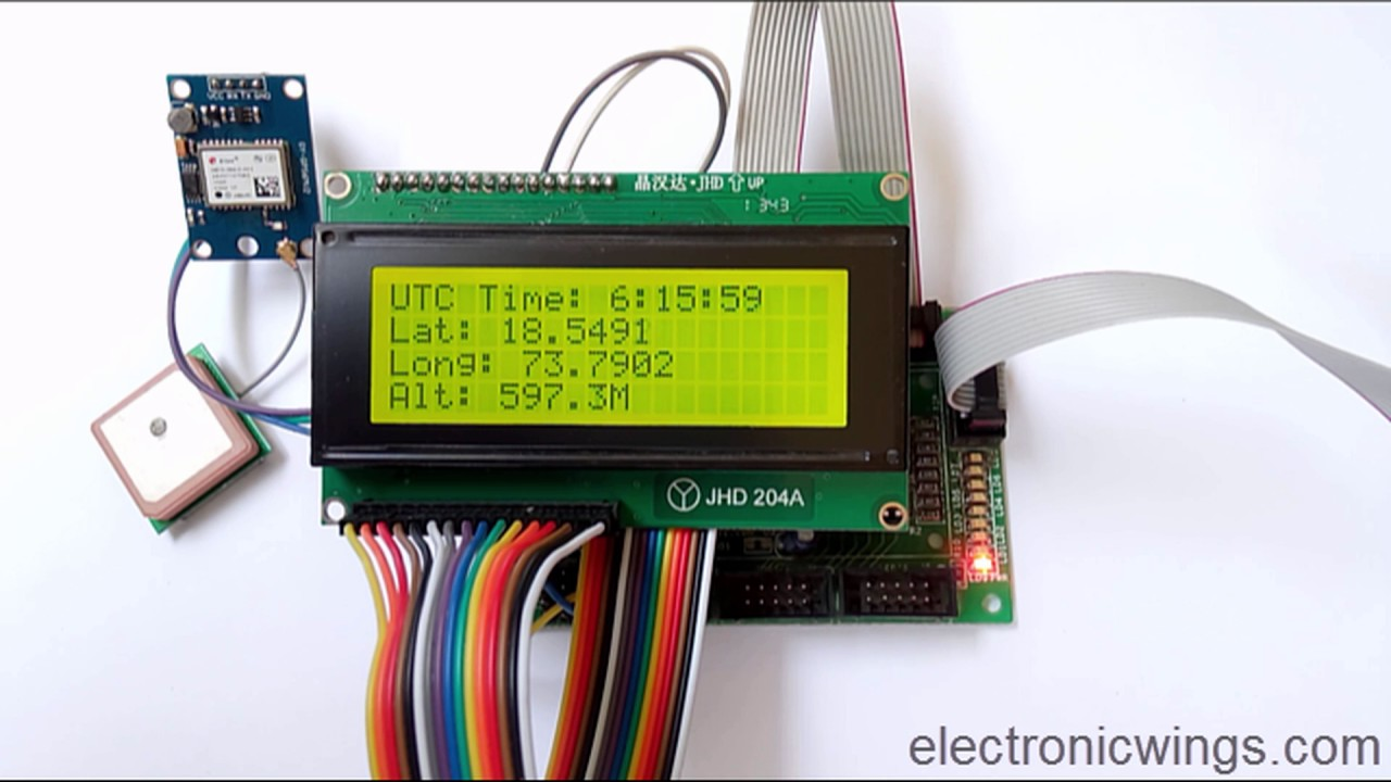 Pic Gps Module Interfacing With Pic18f4550 | Pic