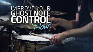 Improve Your Ghost Note Control NOW! - Drum Lesson