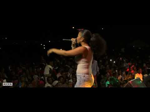 Shenseea Performing Live in Antigua