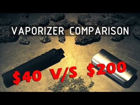 $40 to $200 Dry Herb Vaporizer Comparison (Titan I V/S DaVinci IQ) Cannabasics #119