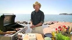 Grillifestarit - broilerin minuuttipihvit, BBQ-hedelmät ja tsatziki