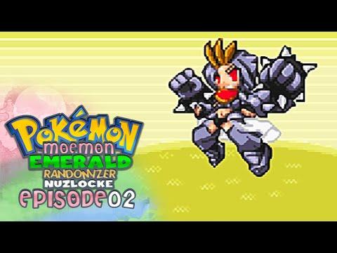 "Pokémon ""Moemon"" Emerald Randomizer Nuzlocke w/ CuddleofDeath! - Ep 2 ""Pantsu!"""