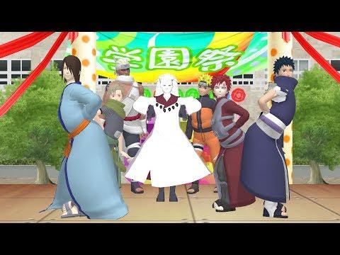 【 MMD Naruto 】 Male Jinchuuriki 『 BBoom BBoom 』