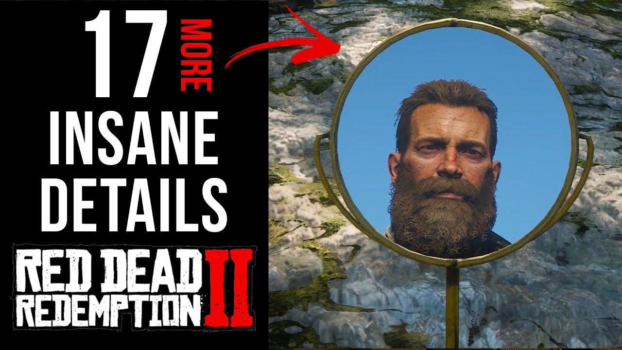 17 INSANE Details in Red Dead Redemption 2 (Part 7) thumbnail