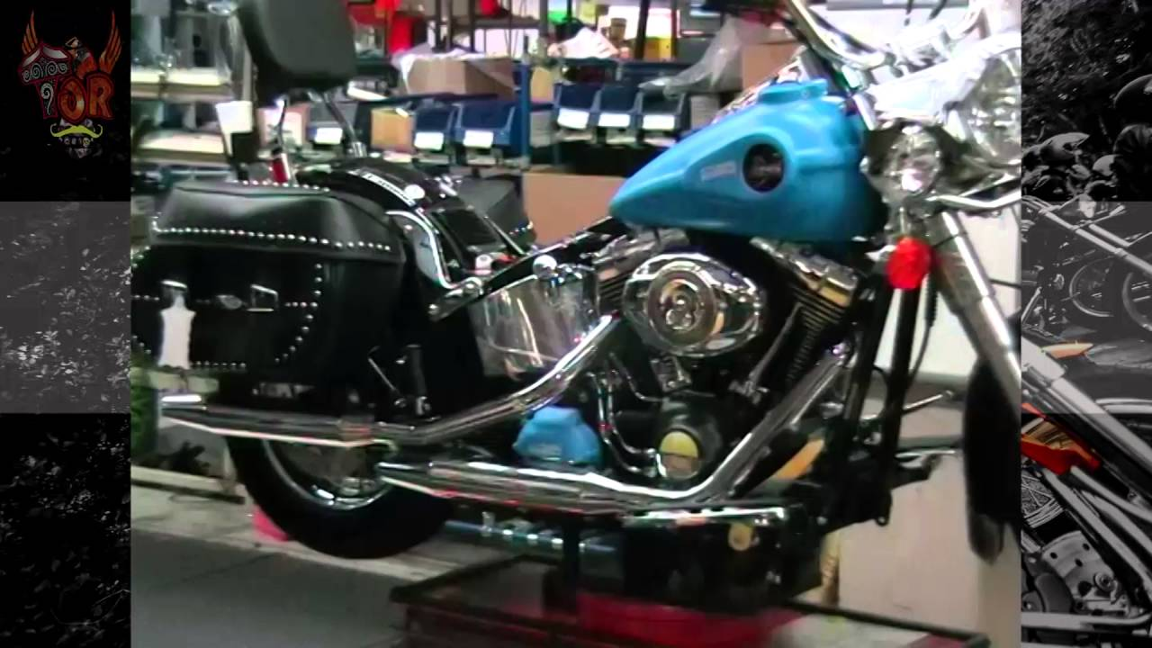Inside the Harley-Davidson Softail factory - YouTube