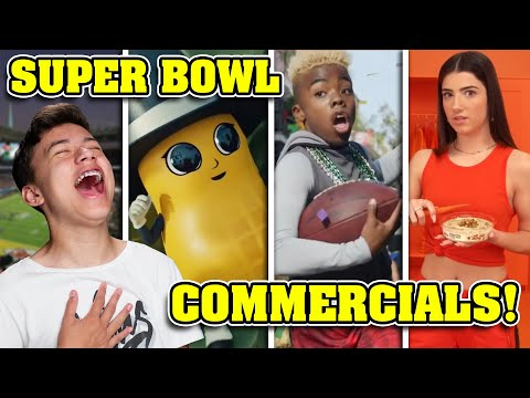 TEEN REACTS TO BEST SUPER BOWL COMMERCIALS 2020!!! Jason Mamoa, Charli D'Amelio, The Shining & More!