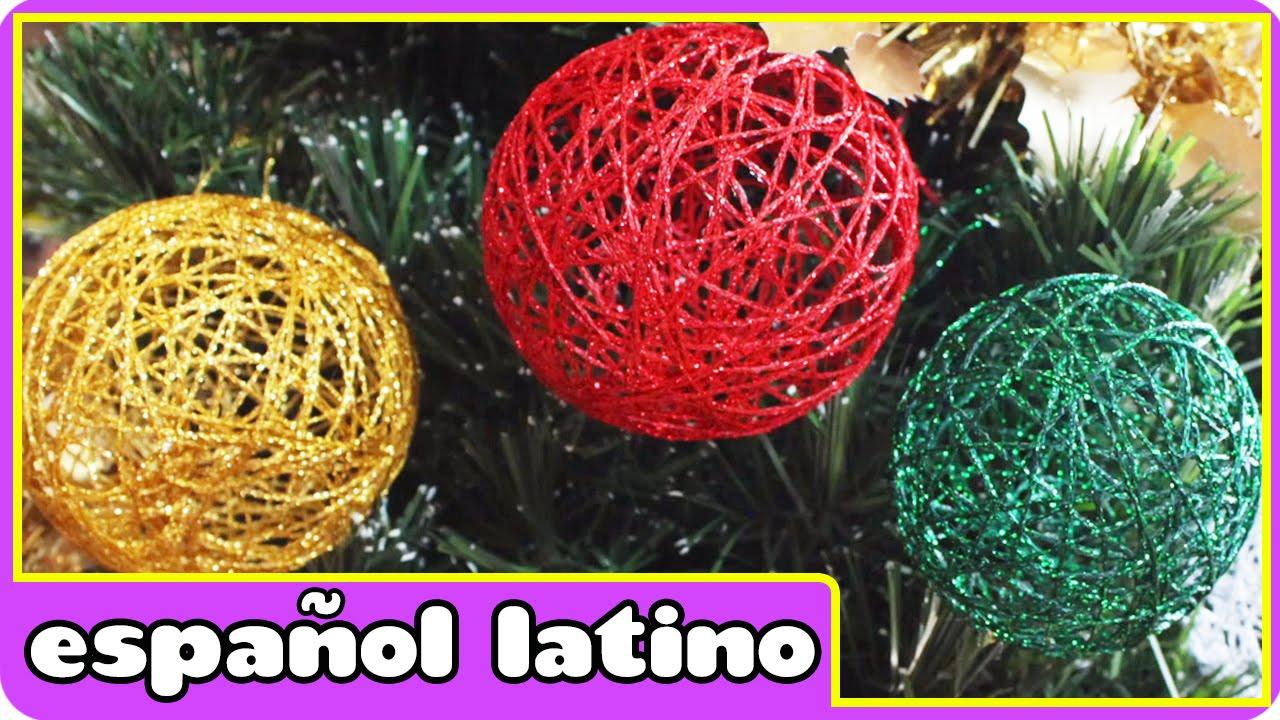 Como hacer adornos navide os christmas ornament - Como realizar adornos navidenos ...