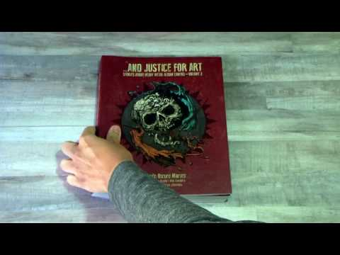 """""""And Justice For Art - Volume 2"""" Book Preview"""
