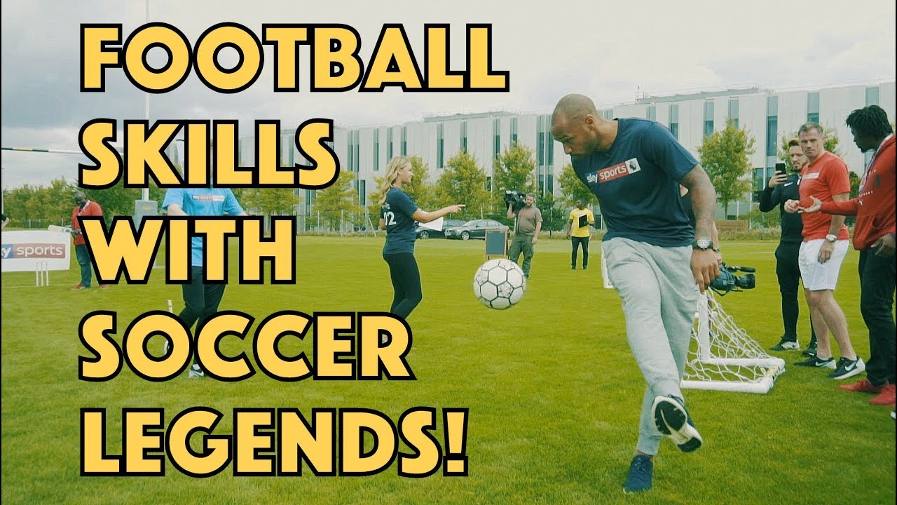Crazy Football Skills Ft Thierry Henry
