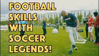 Andrew HendersonTV |  FOOTBALL SKILLS | FT THIERRY HENRY!!!