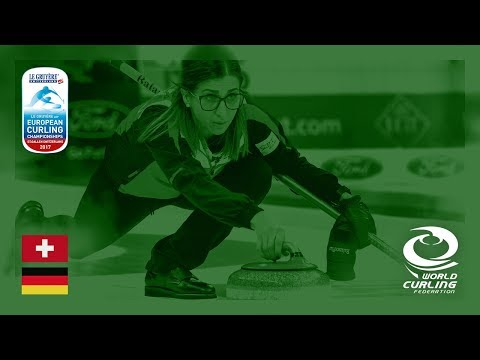 Switzerland v Germany - Women's Round-robin - Le Gruyère AOP European Curling Championships 2017