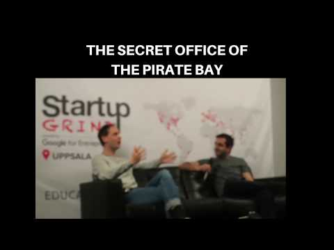 Funny story from The Pirate Bay, Peter Sunde