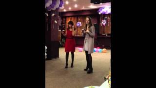 мой день рождения,моя подруга,наш танец