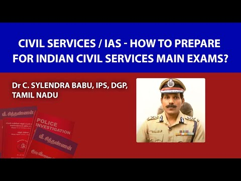 How would you prepare for the civil service exam?
