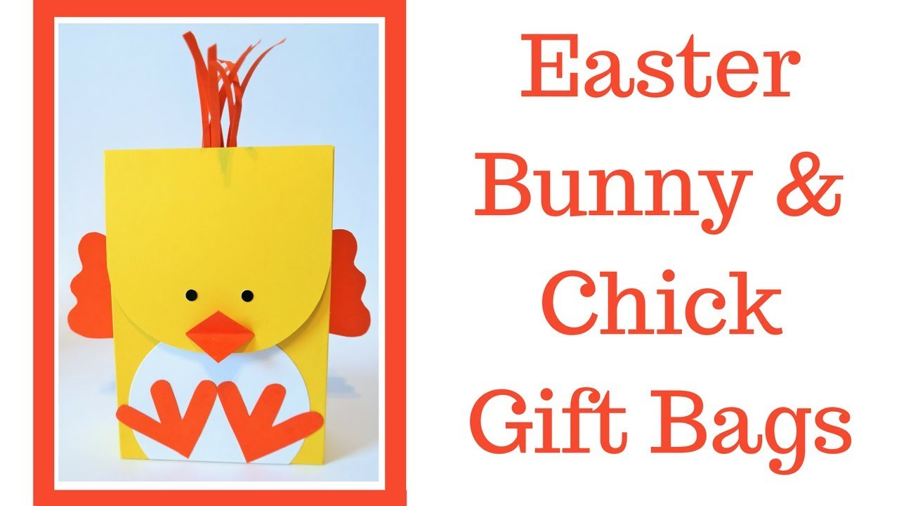 Easter bunny chick gift bags video tutorial easter series 2018 easter bunny chick gift bags video tutorial easter series 2018 negle Images