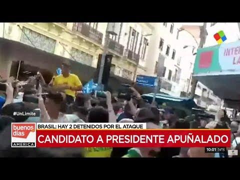 Conmoción en Brasil por el ataque al candidato a presidente Jair Bolsonaro 34828b4364ab5