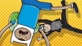 Gmod Hide and Seek Funny Moments - Big Headed Cartwheels!