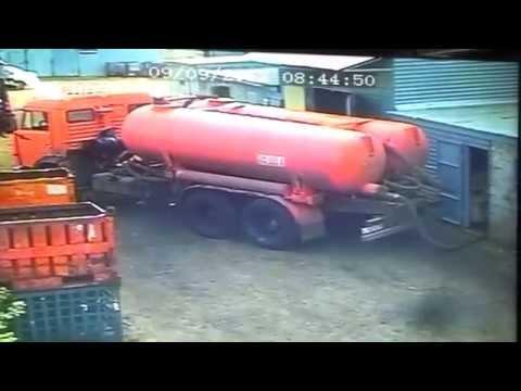 Камаз сплюшелло Septic Vacuum Tank Truck Implosion
